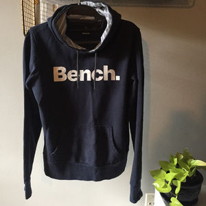 ✅Bench hooded faded dark blue